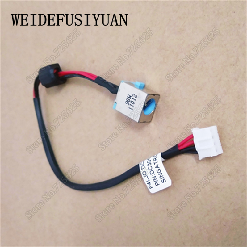 New AC DC Power Jack Cable Harness Wire for <font><b>Acer</b></font> <font><b>Aspire</b></font> TimelineX <font><b>4830</b></font> 4830G 4830T <font><b>4830TG</b></font> E1-521 E1-531 E1-571 image
