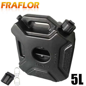 Green Black 5L Explosion-proof Antistatic Spare Plastic Barrel Fuel Tank Car Motorcycle Fuel Spare Oil Petrol Tanks Jerry Can - DISCOUNT ITEM  30 OFF Automobiles & Motorcycles