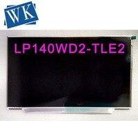 무료 배송 레노버 씽크 패드 x1 카본 노트북 lcd led 스크린 LP140WD2-TLE2 lp140wd2 (tl) (e2) 1600*900