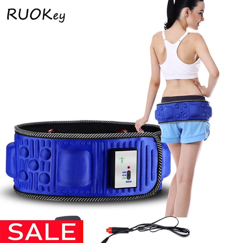 Schlankheits-cremes Schönheit & Gesundheit Abnehmen Gürtel Massage Elektrische Vibrierende Taille Übung Bein Bauch Fett Brennen Heizung Bauch Massager Abnehmen Gürtel