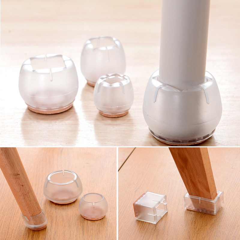 1pc Plastic Furniture Table Chair Cabinet Leg Foot Feet Mat Pad Protector Base Cap Cover Anti-skid Floor Protection Silencer 1pcs plastic furniture table chair cabinet leg foot feet mat pad protector base cap cover antiskid floor protection silencer