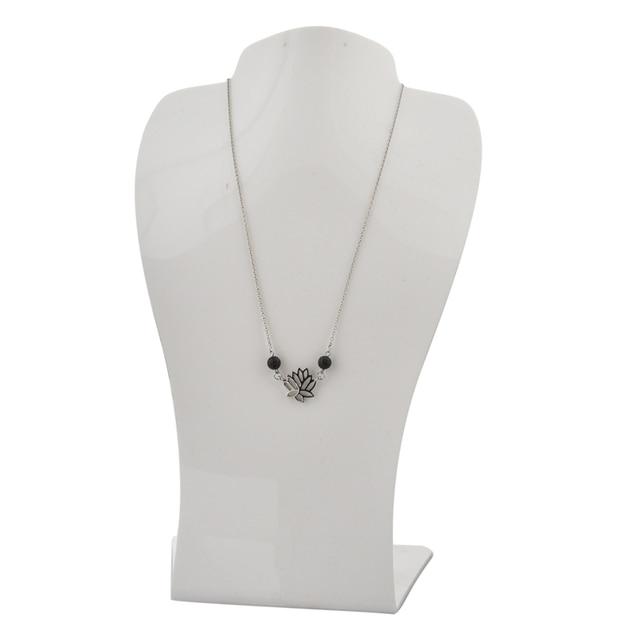 Фото chicvie ювелирные изделия йога лотос цветок ожерелье буддизм цена