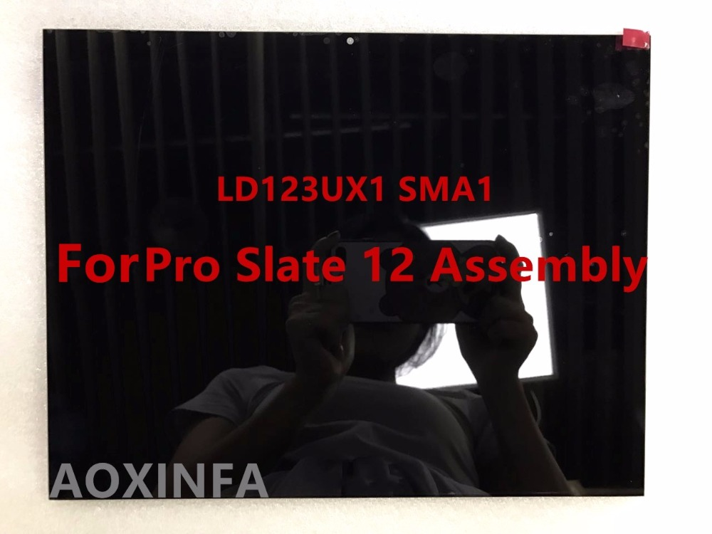 Free shipping new original For Pro Slate 12 screen assembly LD123UX1 SMA1 LCD screen 1600 * 1200 onda b150u d3 computer motherboard