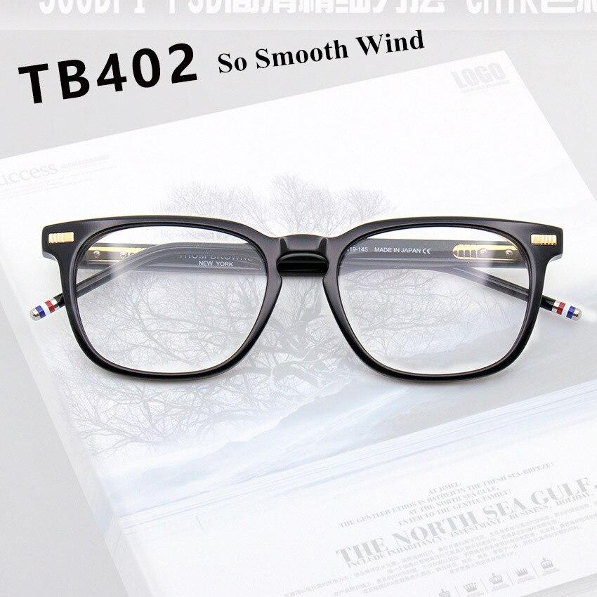 2019 Thom Brand Retro Square Acetate Optical Glasses Frame Men Women Spectacle Frame Oculos De Grau Rectangle Eyeglasses