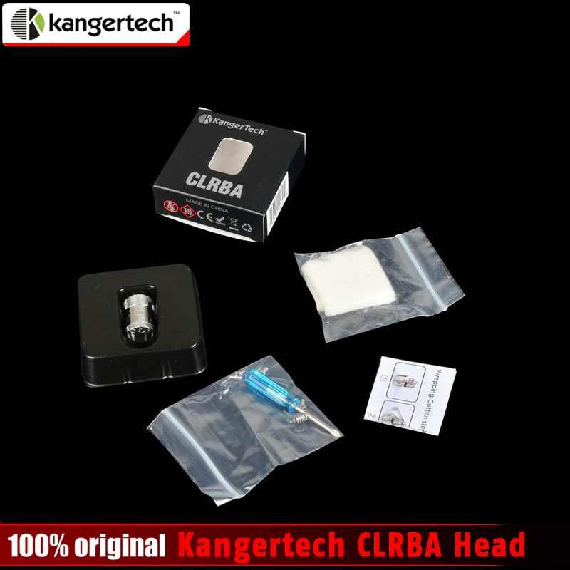 Original Kangertech CLRBA Head Rebuildable Coil with Organic Cotton and Kanth Wire for Kanger Cupti Kit and Cltank Kit RBA Coil