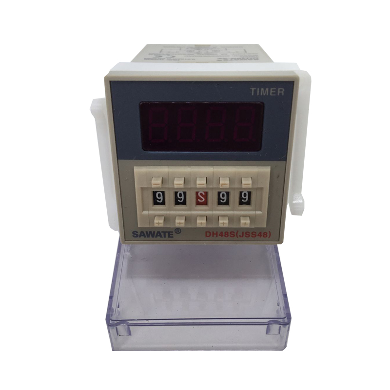 цены CE AC 220V DH48S-2Z Timer Relay Programmable dual control time Delay JSS48 / DH48S-2Z Relay Time