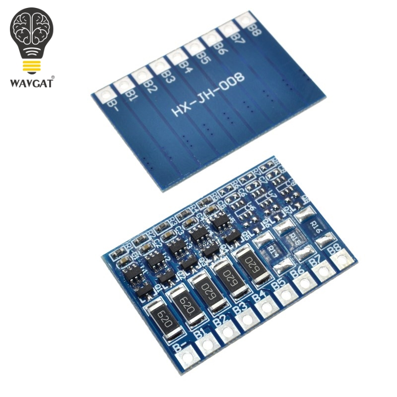 5S 4.2v li-ion balancer board li-ion balncing full charge battery balance board WAVGAT ...