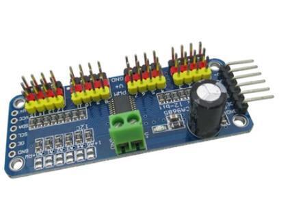 10pcs 16 Channel 12 bit PWM/Servo Driver I2C interface PCA9685 module