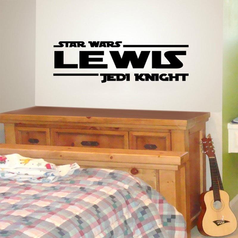 Star Wars Jedi Padawan Personalized Custom Name Quote Vinyl Wall Decal Sticker