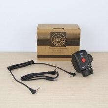 Nova Filmadora Zoom DV Controle Remoto Controlador com Interface de 2.5mm Primavera Cabo para Panasonic com zoom