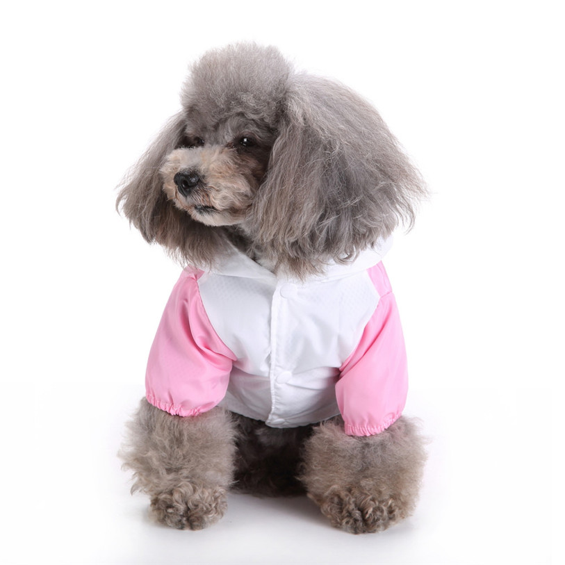 Cute Frog Rabbit Raincoat for Dogs Transparent Dog Raincoat Waterproof Hooded Cloak Summer Clothes for Dogs Dropshipping 40AT14 (19)