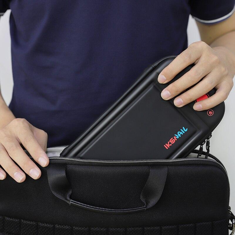 Купить с кэшбэком IKSNAIL Nintend Switch Bag For Playstation Nintendos Console Bolso Case Durable Nitendo Case For NS Nintendo Switch Accessories