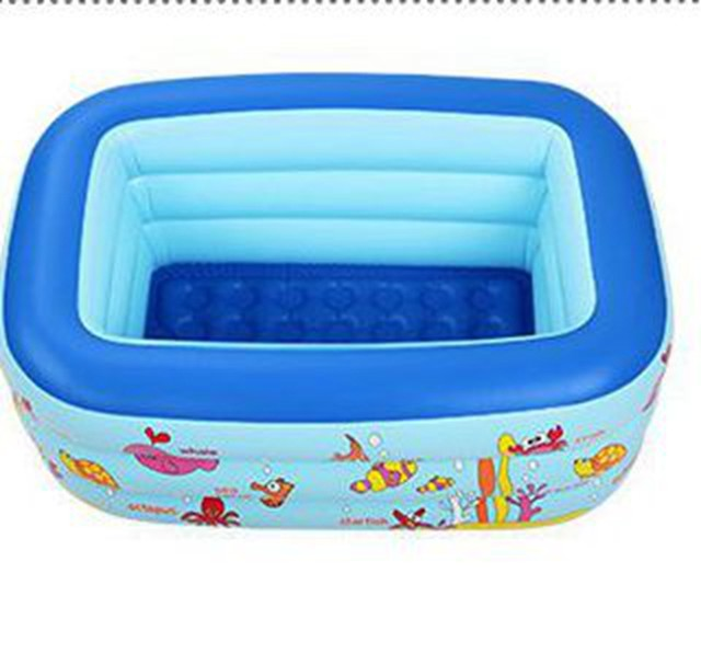 Online Shop Inflatable Pool 3 layers Portable kids splashing ocean ...