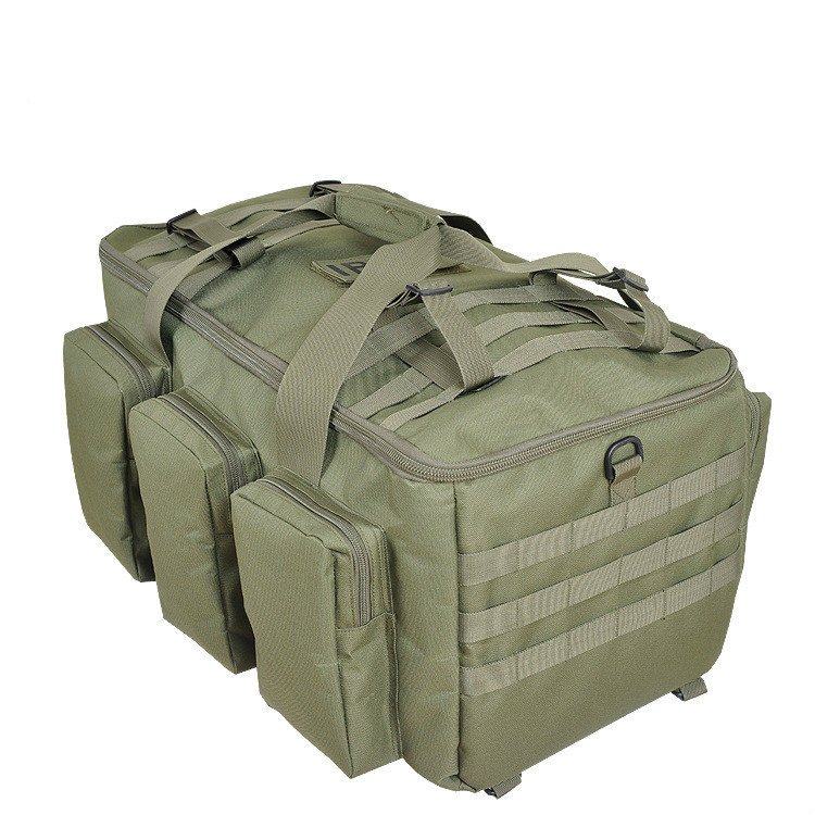 Case exclusive Tackle Outdoor military enthusiasts package Camping fishing rod bags multifunctional font b backpack b