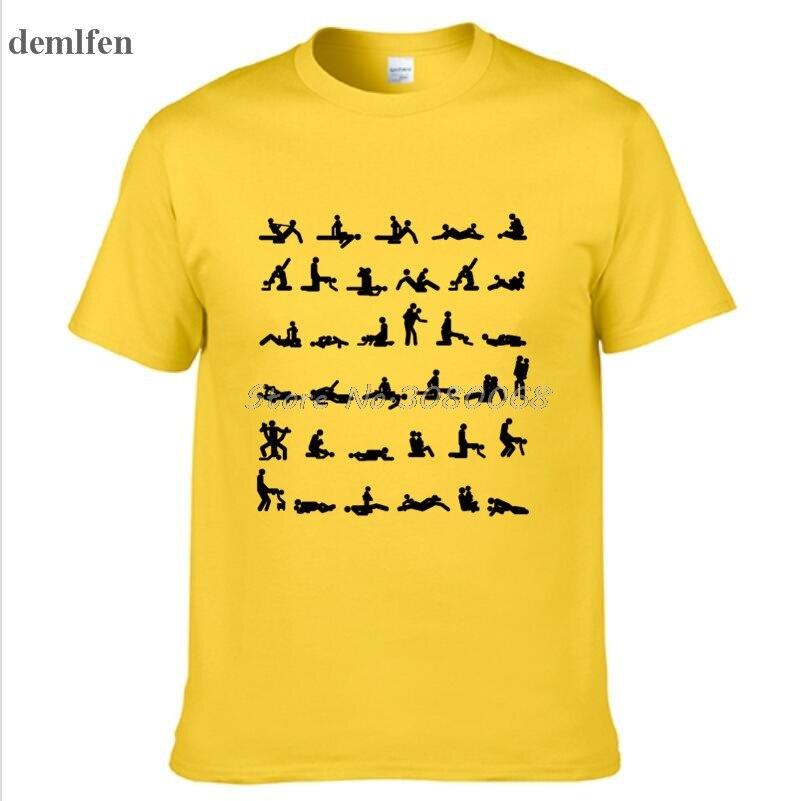 7b90310a7 Novelty Design Kamasutra T shirt Men Cotton Casual O neck T Shirt Funny  Print Man T Shirt Cool Tees Tops-in T-Shirts from Men's Clothing on  Aliexpress.com ...