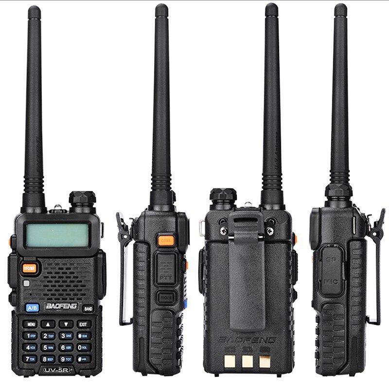 Baofeng UV5R Radio bidirectionnelle double bande UV5R Radio talkie-walkie CB Radio avec programmation USB et antenne RH-771 - 3
