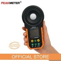 PM6612 Digital LUX Meter 200,000 Lux Light Meter Test Spectra Auto Range High Precision Digital Luxmeter Illuminometer Measure