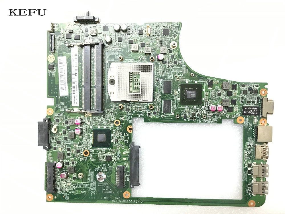 KEFU  AVAILABLE PROMISED WORKING  DA0BM5MB8D0 REV : D LAPTOP  MOTHERBOARD FOR LENOVO B5400 NOTEBOOK VIDEO CARD N15V-GM-S-A2