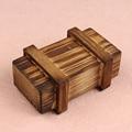 Novel Designs Intelligence Magic Puzzle Wooden Secret Box Compartment Gift Brain Teaser New