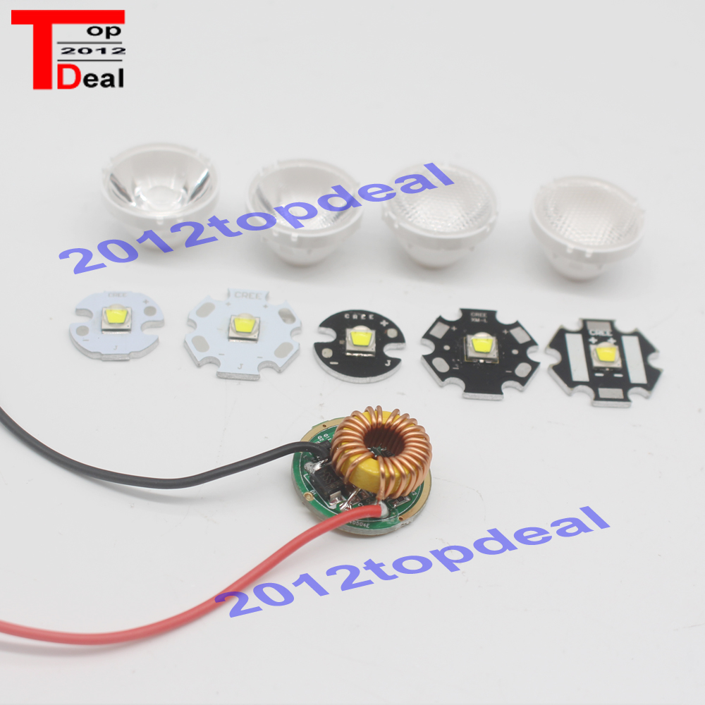 Home original cree xm l2 xml2 led emitter lamp light cold white - 1set Cree Xlamp Xml2 Xm L2 T6 U2 10w White High Power Led Emitter