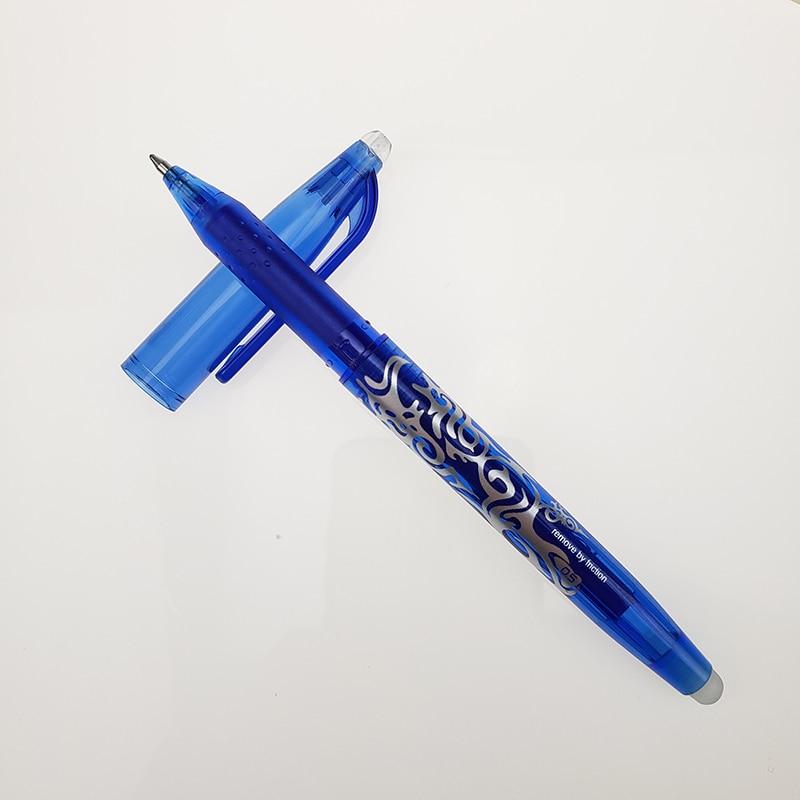 1Pc New 0.5mm Erasable Pen 1 pcs Refills Colorful set 8 kinds of styles Rainbow Erasable pen Best-selling Gel pen 5