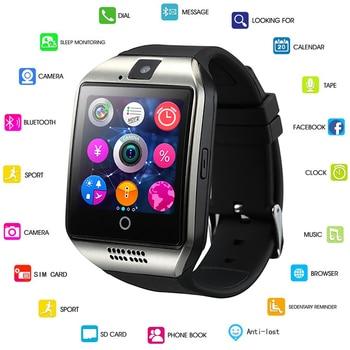 GEJIAN 2018 New Men Smart Watch Women Sport Pedometer LED Digital WristWatch SIM Camera Music Player Smartwatch For Android+Box lige horloge 2017