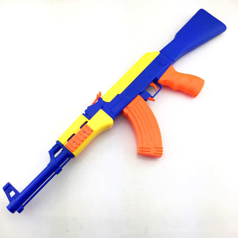 Children's Simulation AK47 Toy Guns Soft Bullet Plastic Weapon Toy Armas AK 47 Sniper Rifle EVA Bullets Boys Best Gift