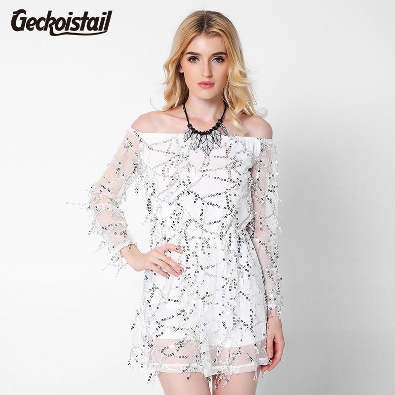 Buy Cheap 2017 New Vestidos Summer Dress Women Chiffon Mesh Ukraine Club Party Dresses Off Shoulder Dress Sexy High Quality Black Vestido