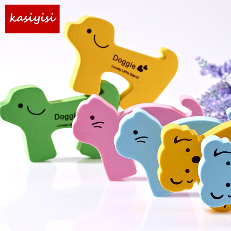 10pcs/lot Door Guard Door Protector Baby Anti-Pinch Device Door Lock