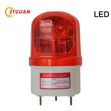 LTE-1101L free shipping  warning light  Seismic LED bulbs1W DC12V/24V rotary signal used in Lathes/construction sites/workshops free shipping to west europe wifi dmx control 24v 4 wires rgb 50w led flood light 5pcs lot used for warehouses and workshops