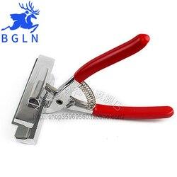 كماشة Bgln12cm للرسم الزيتي ، كماشة قماشية ذات المقبض الأحمر ، كماشة قماشية ذات نسيج ممتد للرسم مستلزمات فنية