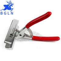 Red Handle With Spring Clamp Cloth Stretched Canvas Painting Quality Stretch Fabric Clamp Pliers Canvas Art