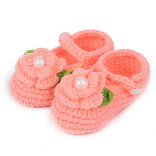 Kleinkind Schuhe Krippe Häkeln Lässig Baby Handmade Stricken Sock ...