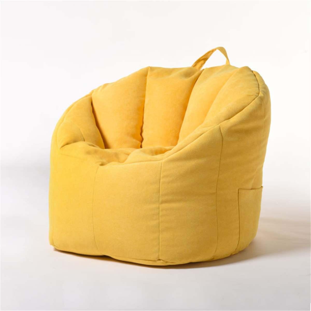 Saco de feijão capa sofá cadeira de enchimento espreguiçadeira sofá assento otomano sala de estar móveis sem enchimento pufe puff puff puff sofá