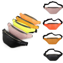 Female Fanny Pack Waist Belt Bag Pouch Travel Women Sport Hip Bum Bag Purse Fashion High Quality Waist Bags fashion brand lattice ladies bag high quality waist fanny pack belt bag pouch travel hip bum bag women leather small purse