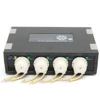 DP 4 Auto Dosing Pump Automatic Doser for Reef Aquarium Elements Fish Tank Accessories 100 230V 234.7 x 150x 65.5 mm