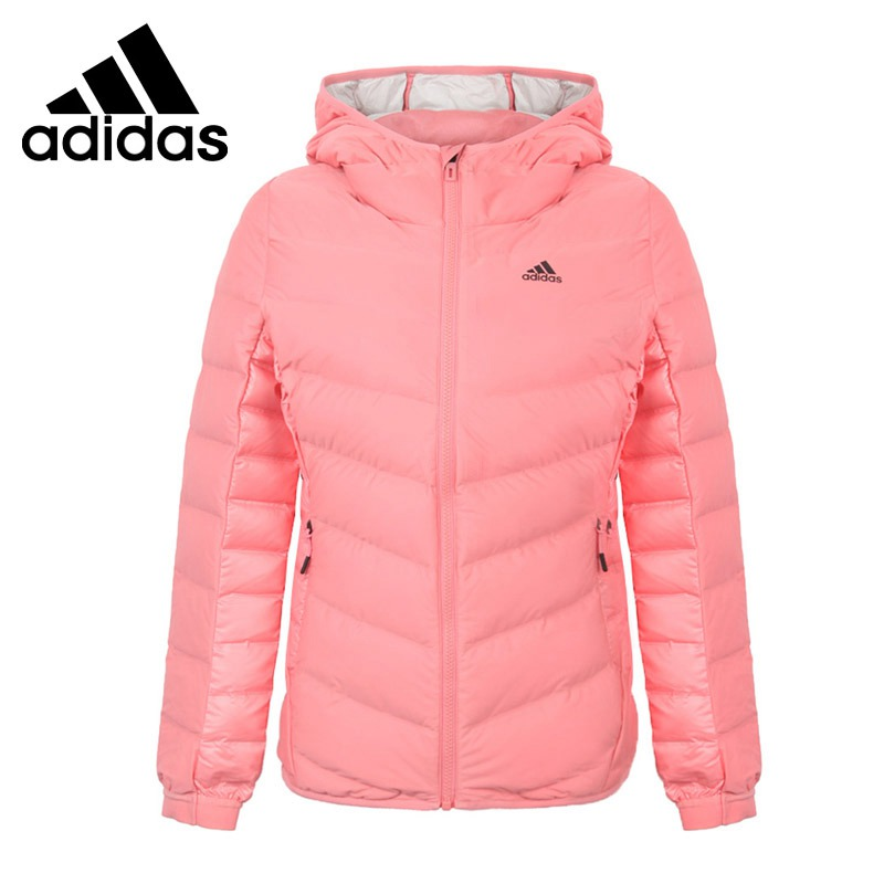 Original New Arrival  Adidas NUVIC JACKET Women's Down Coat Hiking Down Sportswear