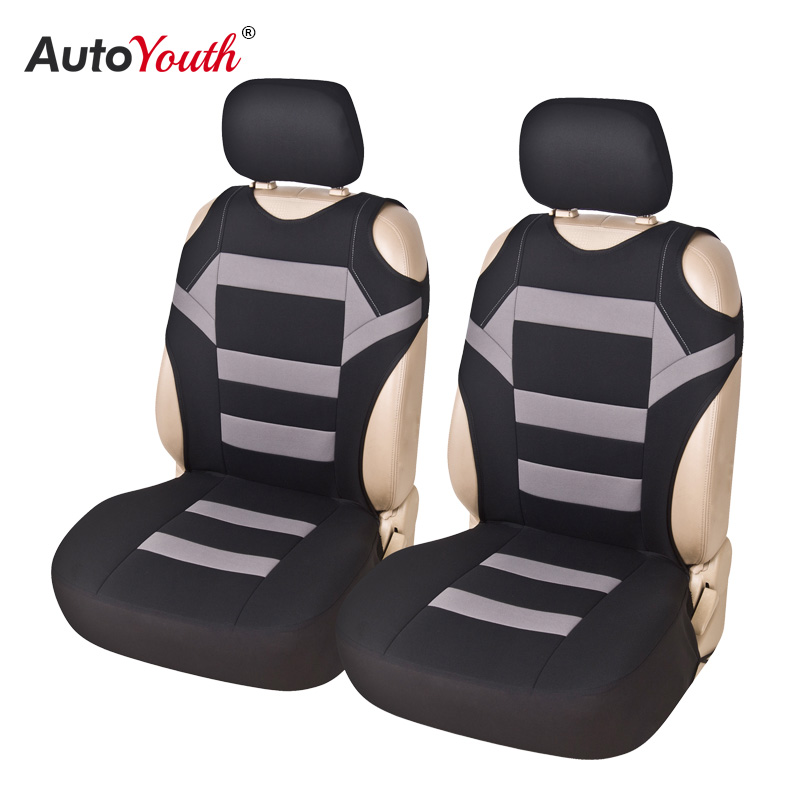 2 Pieces Set T Shirt Design Front Car Seat Cover Universal Fit Car Care Coves Seat Protector for Car Seats Polyester Fabric-in Automobiles Seat Covers from Automobiles & Motorcycles