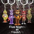 Брелок «пять ночей у Фредди», ПВХ экшн-фигурки аниме, игрушки для Хэллоуина для детей, 5 см