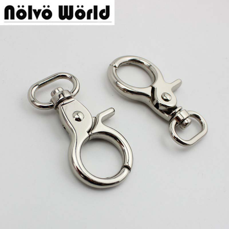 30pcs 3 colors 20mm 25mm high quality trigger snap hook clasp clip swivel dog leash hook ...