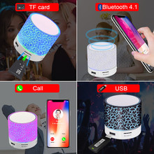 Portable Mini Bluetooth LED Speakers