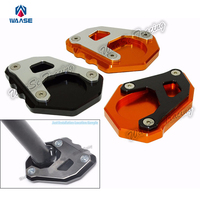 Motorcycle Kickstand Foot Side Stand Extension Pad Support Plate For For KTM 1050 1190 1290 Adventure