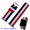Smart Watchband 22mm 24mm Quality Nylon Watch band For Apple Watch band 38mm 42mm Nato Strap