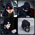 high quality Unisex Acrylic Knit Hat Winter Hats Skull Style Skullies & Beanies For Women And Man 4 Colors Gorros free sipping