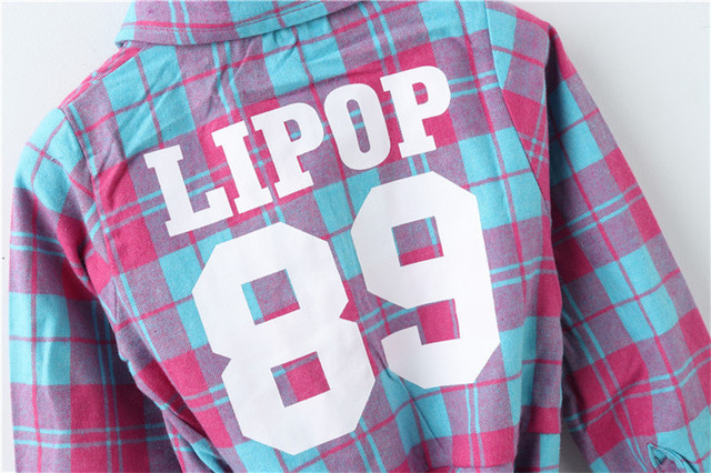 Top quality autumn girls cotton long sleeve blouse vintage plaid school girls shirts toddler casual tops baby clothes autumn