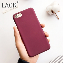 LACK Luxury Wine Red Case For iphone 6 Case For iphone 6S 7 7 Plus 5 5S Phone Cases Fashion Hard PC Frosted Cover Capa Fundas