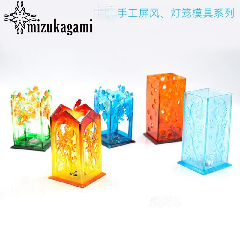 1pcs Resin Silicone Mold Lantern Mold For DIY Fashion Jewelry Making Finding Accessories