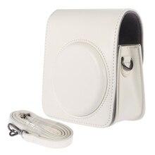 Cổ điển cổ điển Nhỏ Gọn PU Leather Case đối với Túi Fujifilm Instax Mini 70 Tức Film Camera Dây Đeo Vai