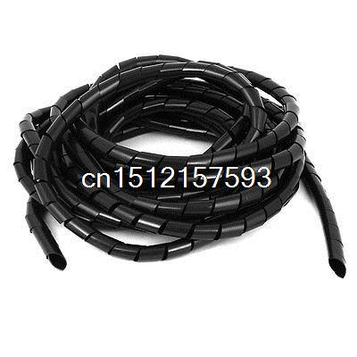 Cable Wire Tidy Spiral Wrapping Band PC Cinema TV Management Organizer 6M 20Ft cable wire tidy spiral wrapping band pc cinema tv management organizer 6m 20ft