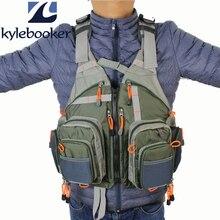 Men's Fly Fishing Mesh Vest Adjustable Breathable Quick Dry Bass Fishing Vest Pack цена 2017